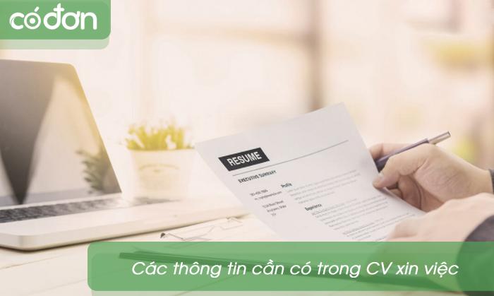 mau CV