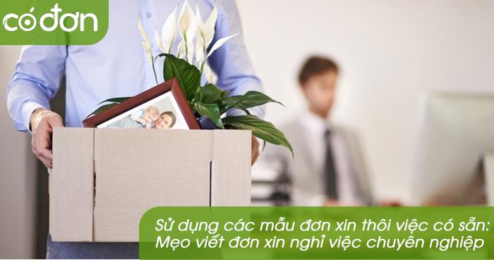 Viet don xin nghi viec nhu the nao