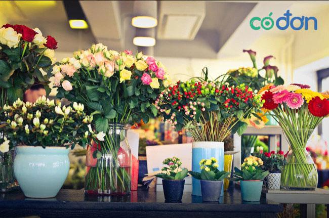 kinh nghiem mo shop ban hoa