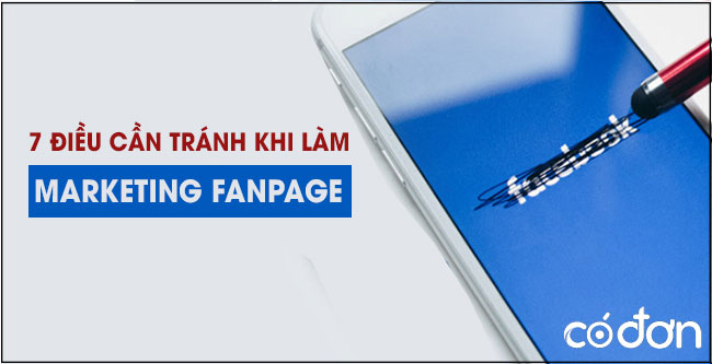 loi sai can tranh khi Marketing Online Fanpage